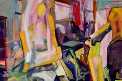 """""""Без име"""", маслени бои, 180/150 см., 2019 г."""