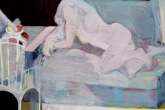 """""""Без име (4)"""", маслени бои, 170/130 см., 2017 г."""