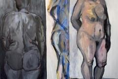 """""""Композиция"""", маслени бои, 150/130 см., 2017 г."""