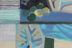 """Морска градина. I"", м. б. платно, 65/54 см., 2020 г."