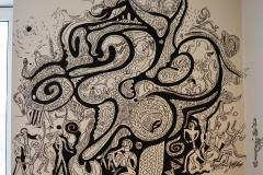 """Mural painting"", 2018"