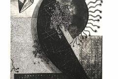 """""""В търсене на лунни пътеки II"""", литография, 35/50"""