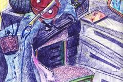 """Господин Копче"" – химикалка и моливи"