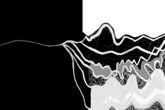 """""""Лодка в буря 1"""" – темперна боя и дигитална обработка"""
