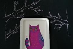 Owl cat frame