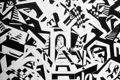 """""""Артитектура"""", акрил върху платно"""