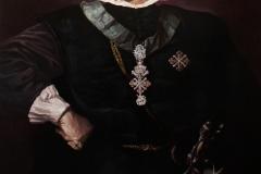 """Копие на портрет на цар Фердинанд, по поръчка на двореца """"Врана"""", масло върху платно, 90/140 см., ноември 2019 г."""