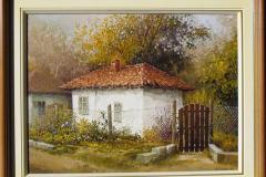 Картината е правена по поръчка за клиент (масло, 30/40 см.)