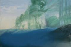 """""""Двойна реалност I"""", масло върху платно, 130/150 см., 2015 г."""