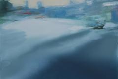 """""""Двойна реалност II"""", масло върху платно, 130/150 см., 2015 г."""
