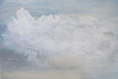 """""""Да можеш да летиш"""", маслени бои върху хартия, 92/130 см., 2019 г."""