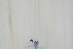 """""""Лятото на 1994"""", маслени бои върху платно, 46/46 см., 2014 г."""