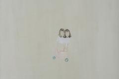 """""""Лятото на 1994"""", маслени бои върху платно, 46/46 см., 2013 г."""