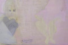 """""""Лятото на 1994"""", маслени бои върху платно, 50/130 см., 2013 г."""