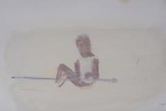 """""""Лятото на 1994"""", маслени бои върху хартия, 16/28 см., 2013 г."""