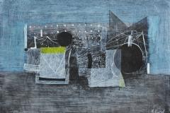 """""""Бряг II"""", туш върху картон, 248/348 см., 2012"""