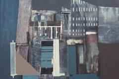 """""""Град I"""", м. б. платно, 30/30 см., 2015"""