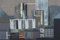 """""""Град III"""", м. б. платно, 30/30 см., 2015"""