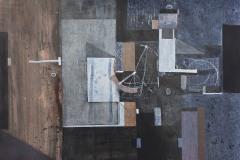 """""""Преминаване I"""", туш върху картон, 35/50 см., 2012"""