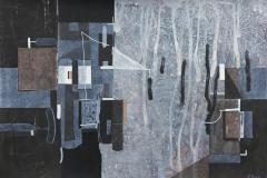 """""""Преминаване II"""", туш върху картон, 35/50 см., 2012"""