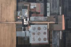 """""""Заключени пространства. Желание IV"""", м. б. платно, 70/63 см., 2013"""