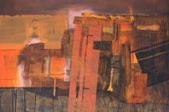 """""""Пейзаж I"""", м. б. платно, 46/55 см, 2016"""