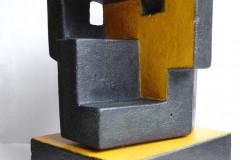 """""""Глава"""", оцветен бетон, 17/14/23 см."""