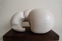 """Tension"",  смесена техника, 16/22/13.5 см."