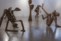 """""""Зеблени хора"""", зебло, дърво, желязо, 2017 г."""