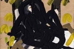 """Разработка по """"Идеални перспективи"""", дърво, акрилна боя, 27/20/4 см., 2017 г."""
