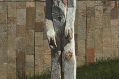 """""""Мъж"""", дърво, 210/60/60 см., 2016 г."""