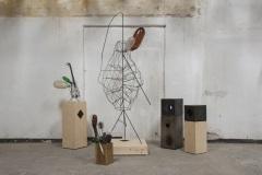 """""""Преди музикалните инструменти"""", метал, дърво, пластмаса, 2015–8 г."""