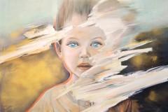 """""""Дете"""", акрил върху платно, 80/100 см., 2015 г."""