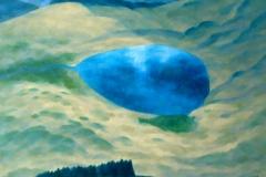 """""""Извор в Бялата планина"""" 60/73, маслени бои, платно"""