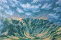 """""""Из Водната планина"""", 100/100, маслени бои, платно"""