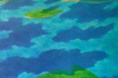 """Блажени острови"" VIII, 65/81, маслени бои, платно"