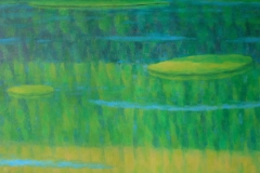 """Блажени острови"" VII, 65/81, маслени бои, платно"