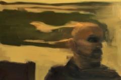 """Носталгия"",  (модел: Димитрий Григоров), маслени бои върху платно, 50/70 см."