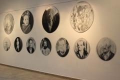 """In memory to face или изтрити портрети"", арт старт в галерия ""Кредо Бонум"", 2016 г."