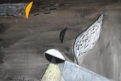 """""""Сънят на Ангела"""", живопис,  2014"""