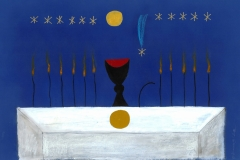 """Тайната вечеря"", рисунка, 2012"