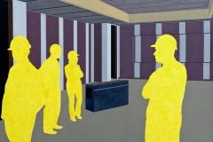 """Post urban. Vision No.3"", масло върху платно, 120/150, 2008 г."