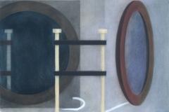 """""""Remains of Experiment. I"""", пастел върху хартия, 50/65 см., 1996 г."""