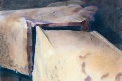 """""""Remains of Future. II"""", пастел върху хартия, 50/65 см., 1995 г."""