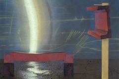"""""""Remains of Gravity. I"""", пастел върху хартия, 50/65 см., 1996 г."""