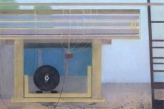 """Remains of Installation"", пастел върху хартия, 50/65 см., 1996 г."