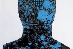 """""""Тишина II"""", линографюра, 79/56 см., 2018 г."""