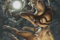 """""""Еротично сътворение"""", 76/76 см., 2012 г."""