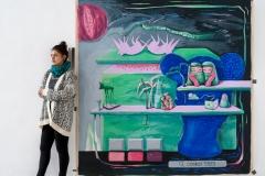 """""""Сенки"""", oil on canvas, 112/207 cm., 2018"""